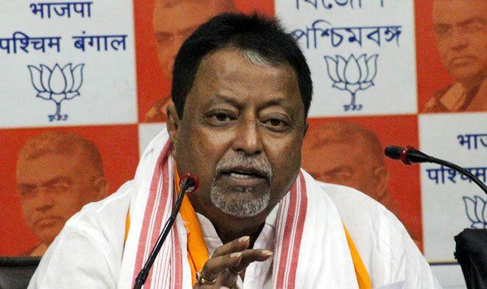 BJP leader Mukul Roy. Photo Courtesy: IANS