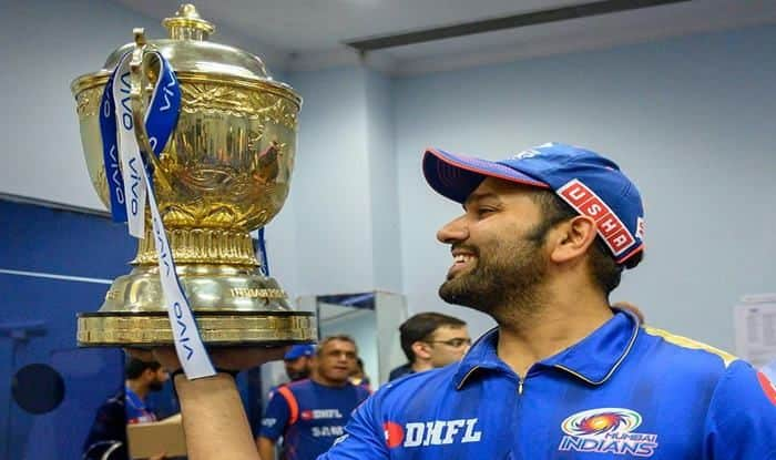 Mumbai Indians Skipper Rohit Sharma win IPL title for fifth time_Picture Credits-MI Official Twitter