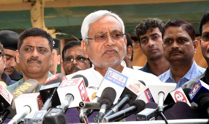JD(U) chief Nitish Kumar. Photo Courtesy: IANS