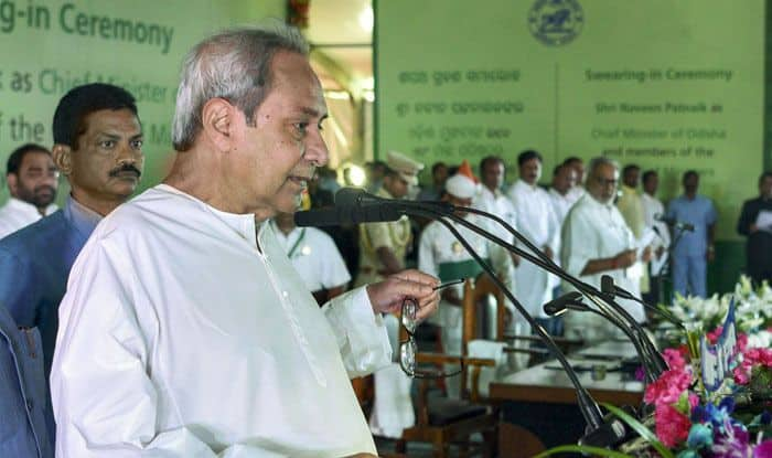 Naveen Patnaik takes oath as Odisha CM. Photo Courtesy: PTI