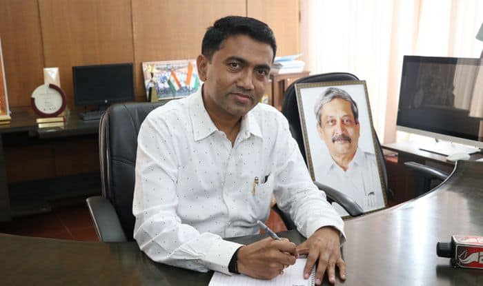 Goa CM Pramod Sawant. Photo Courtesy: IANS