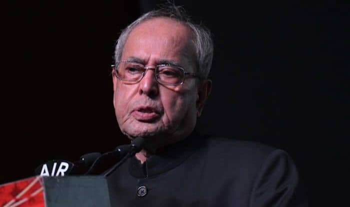 Former President of India, Pranab Mukherjee