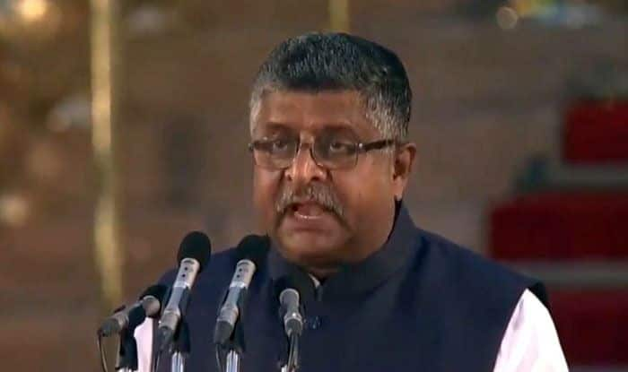 Veteran BJP leader Ravi Shankar Prasad. Photo Courtesy: IANS