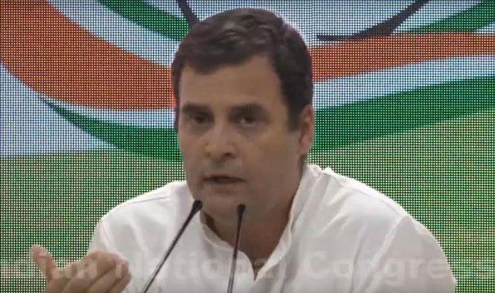 Congress president Rahul Gandhi. Photo Courtesy: IANS