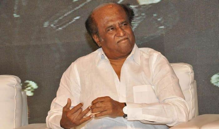 Tamil superstar Rajinikanth. Photo Courtesy: IANS