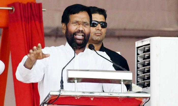 Union Minister Ram Vilas Paswan. Photo Courtesy: IANS