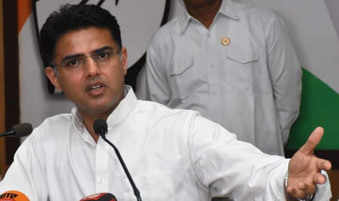 Rajasthan Deputy CM Sachin Pilot. Photo Courtesy: IANS