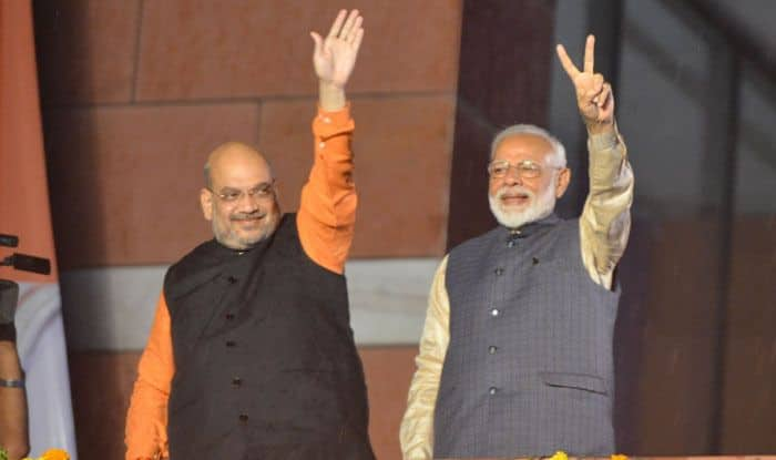 Amit Shah and Narendra Modi. Photo Courtesy: IANS