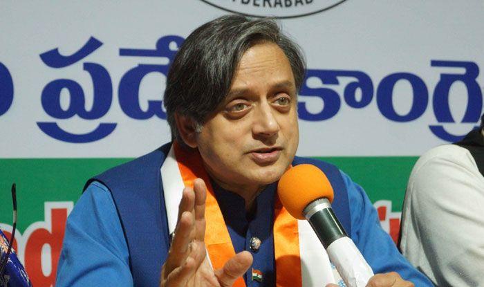 Congress leader Shashi Tharoor. Photo Courtesy: IANS