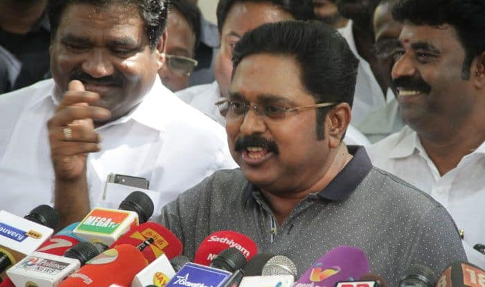 AMMK chief TTV Dhinakaran. Photo Courtesy: IANS