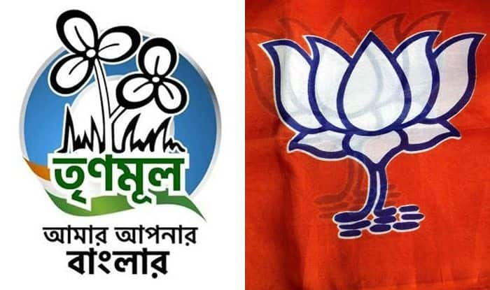 TMC and BJP symbols. Photo Courtesy: IANS