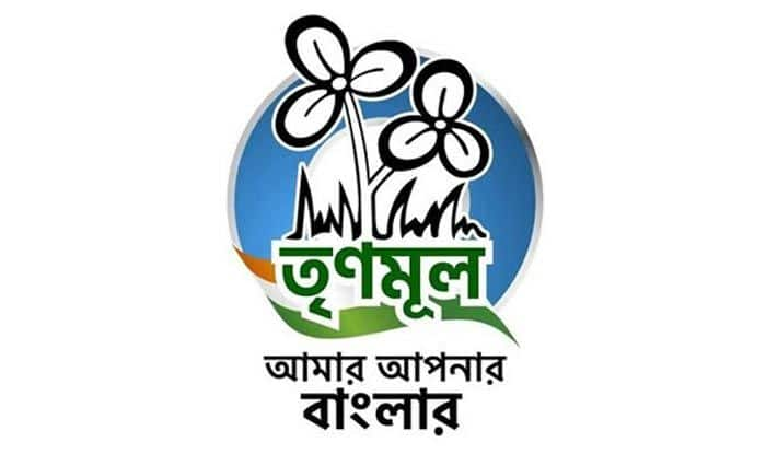 Trinamool Congress symbol. Photo Courtesy: IANS