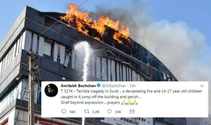 Surat Fire Tragedy: Amitabh Bachchan, Javed Akhtar And Other Bollywood Celebrities Express Anguish Over The Mishappening