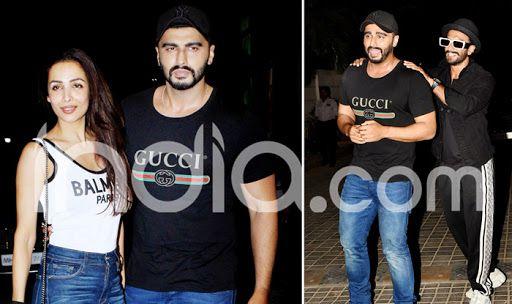 Watch: Ranveer Singh-Arjun Kapoor Relive Gunday, Malaika Poses With Kapoors