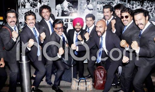 Watch: Ranveer Singh And Team Leave For London to Begin '83