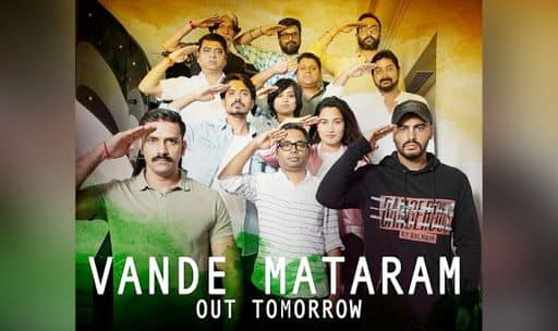 India's Most Wanted New Song 'Vande Mataram' Photo Credit: Instagram/@arjunkapoor