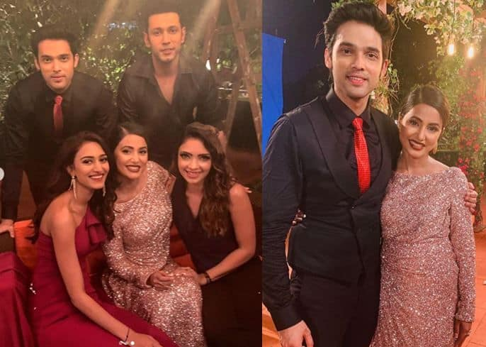 Hina Khan's Farewell Pictures With Kasautii Zindagii Kay Team Will Make You Emotional, See Here