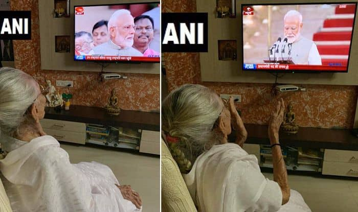 PM Modi's Mother Watches Oath Ceremony From Home