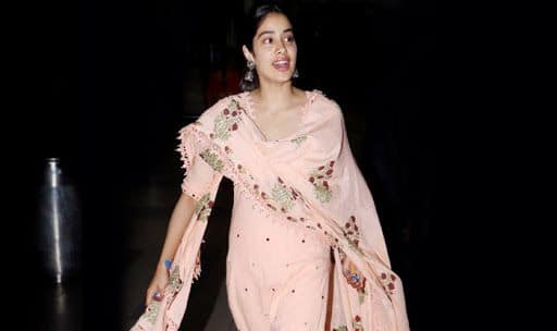 Janhvi Kapoor Gets a Surprise From Friend Before India's Most Wanted Screening