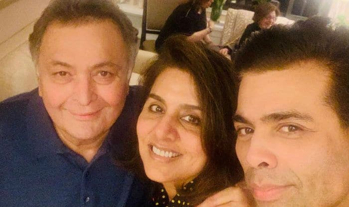 After Deepika Padukone, Shah Rukh Khan And The Ambanis, Karan Johar Visits Rishi Kapoor-Neetu Kapoor