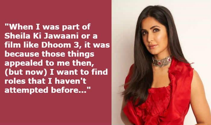 'Not Looking For Glamorous Roles Anymore,' Katrina Kaif Speaks on Why She Wants to Take Risks Now