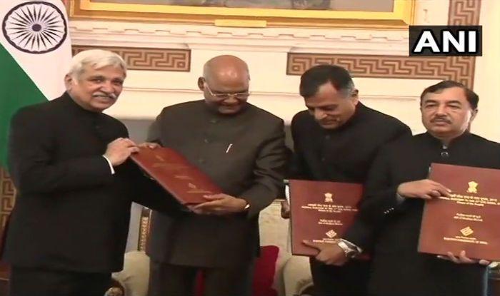 President Ram Nath Kovind Dissolves 16th Lok Sabha, Paves Way For Formation of New Govt