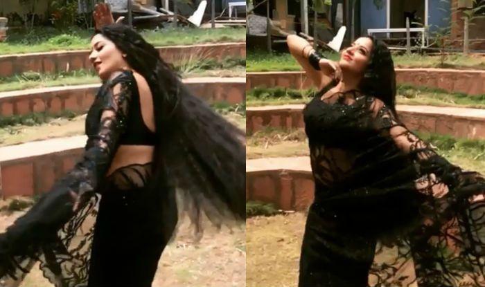 Bhojpuri Actor And Nazar Fame Monalisa's Hot Dance on Salman Khan's Chashni Song Will Make You Forget Katrina Kaif