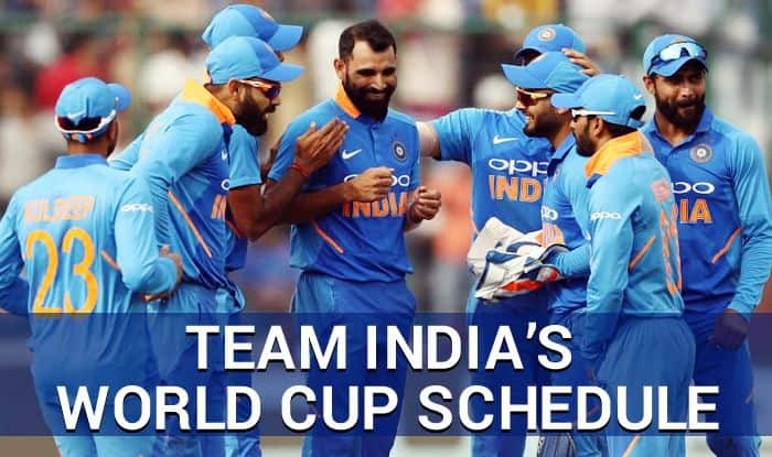 india pre world cup schedule 2019, icc crcket world cup 2019, cricket world cup 2019 team india, world cup schedule 2019 team india, pre world cup schedule, world cup time table 2019, india's pre world cup time table
