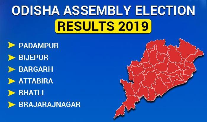 Odisha Assembly Election 2019 Results: Padampur, Bijepur, Bargarh, Attabira, Bhatli, Brajarajnagar Winners List