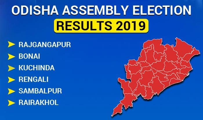 Odisha Assembly Election 2019 Results: Rajgangapur, Bonai, Kuchinda, Rengali, Sambalpur, Rairakhol Winners List