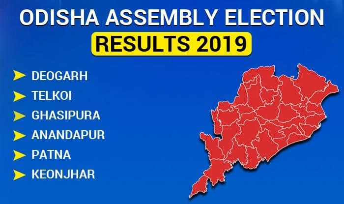 Odisha Assembly Election 2019 Results: Deogarh, Telkoi, Ghasipura, Anandapur, Patna, Keonjhar Winners List