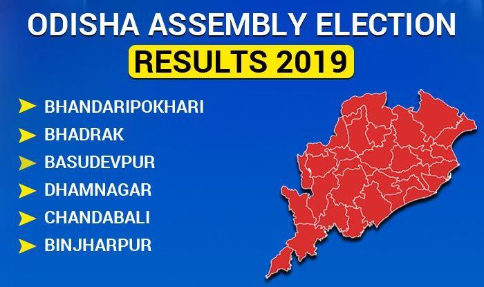 Odisha Assembly Election 2019 Results: Bhandaripokhari, Bhadrak, Basudevpur, Dhamnagar, Chandabali, Binjharpur Winners List