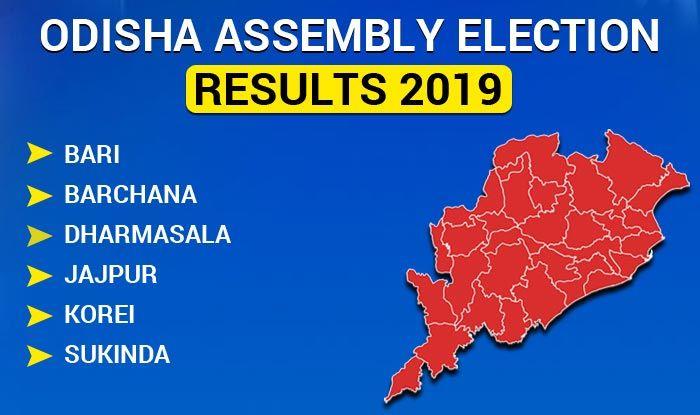 Odisha Assembly Election 2019 Results: Bari, Barchana, Dharmasala, Jajpur, Korei Sukinda Winners List
