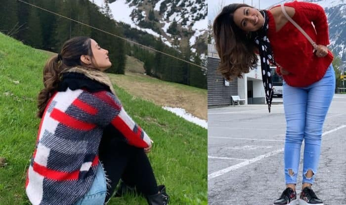 Hina Khan in Switzerland