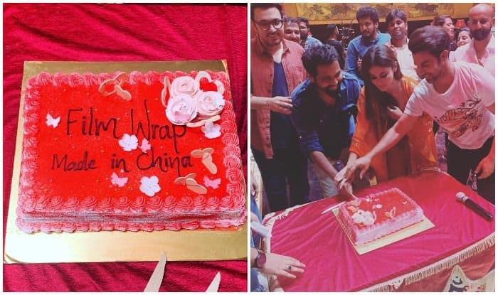 Mouni Roy Wraps up Shooting For Made in China And Looks Like The Cast Can't Keep Calm!
