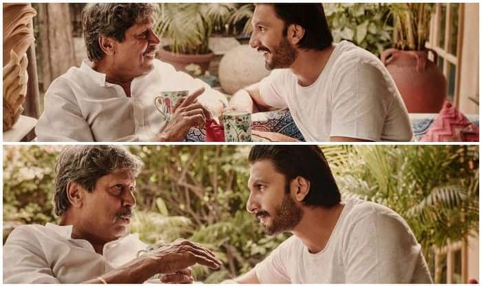 Ranveer Singh Takes Tips From Kapil Dev to 'Become Hurricane' And THIS Picture is Proof!
