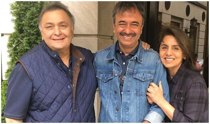 Rishi Kapoor Back to Movies? Neetu Kapoor Has THIS to Say as She Shares 'Excited' Picture With Rajkumar Hirani