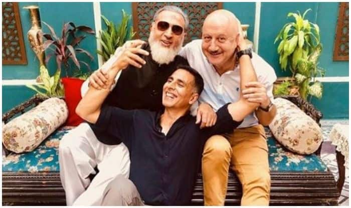 Akshay Kumar, Anupam Kher, Gulshan Grover Have a Mini Reunion, See Pic
