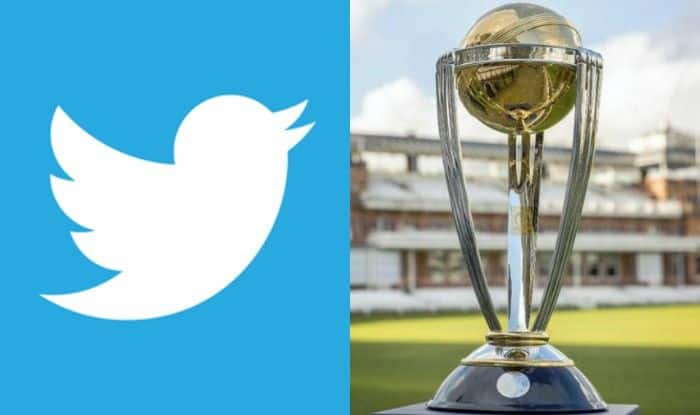 Twitter Logo and World Cup Trophy-2019
