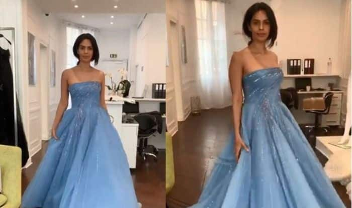 Cannes 2019: Mallika Sherawat is All Set to Rock 72nd Edition of the Prestigious Gala, Preps in Off-Shoulder Blue Gown