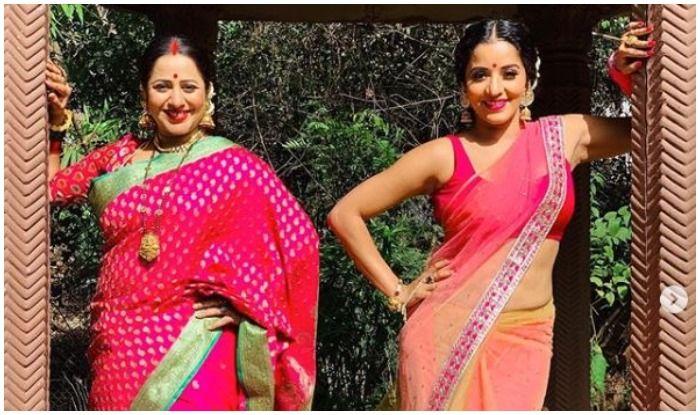 Monalisa, Bhojpuri avtor Monalisa, Monalisa hot saree pictures