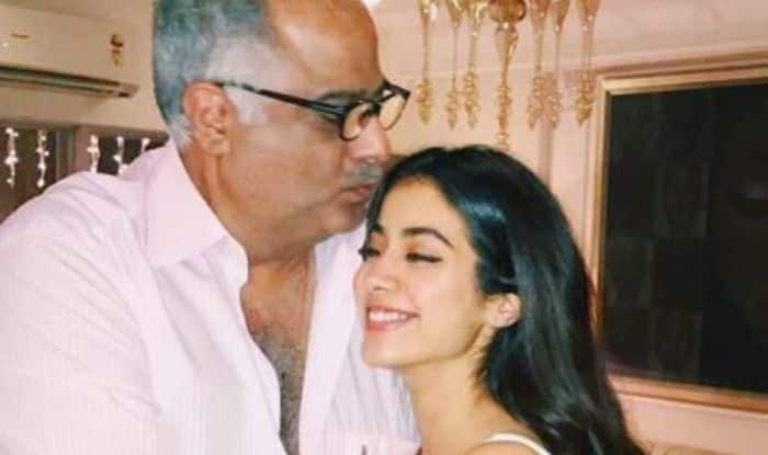Janhvi Kapoor is Proud of Her Father Boney Kapoor, Shares Picture Stating Reason