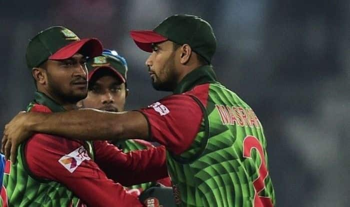 Mashrafe Mortaza and Shakib Al Hasan