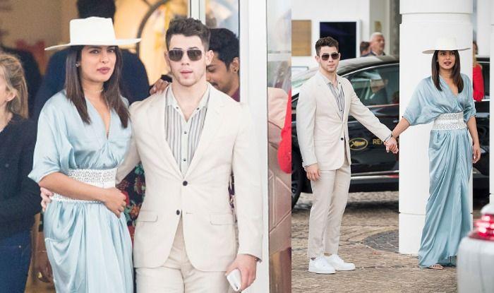 Priyank Chopra and Nick Jonas at Cannes 2019