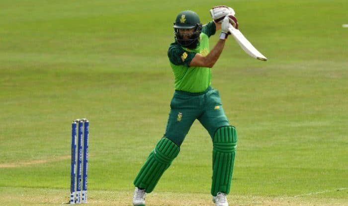 Hashim Amla during warm-up match against Sri Lanka
