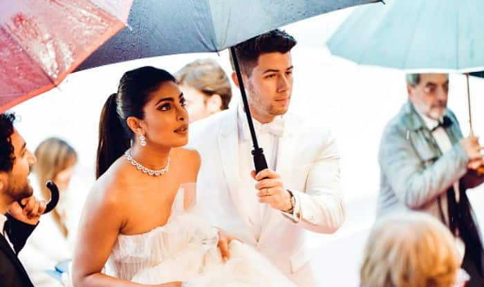 Cannes 2019: When Nick Jonas Held an Umbrella For Wife Priyanka Chopra at The Red Carpet – See Pics