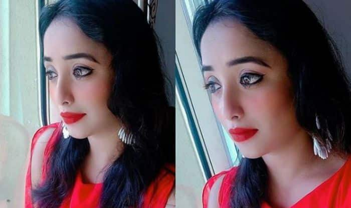 Bhojpuri Sizzler Rani Chatterjee in Sensuous Hot Red Dress Sings 'Girls Like to Swing', Sets The Internet on Fire