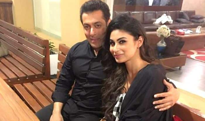 Salman Khan and Mouni Roy (Photo Courtesy: Instagram/ @mounir)
