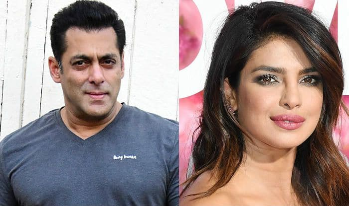 Salman Khan/ Priyanka Chopra (Photo Courtesy: IANS/ Amy Sussman-Getty Images)