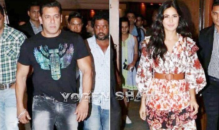 Salman Khan, Katrina Kaif, Kartik Aaryan Spotted in Mumbai